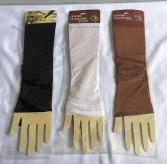 < CATZ > Unisex Arm Sleeves Arm Protection Cover Arm Socks Hand Socks
