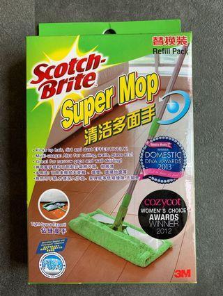 🚚 Scotch-Brite Super Mop Refill Pack