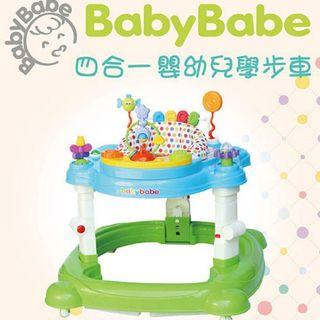 🚚 Baby Babe 四合一 多功能學步車(二手)