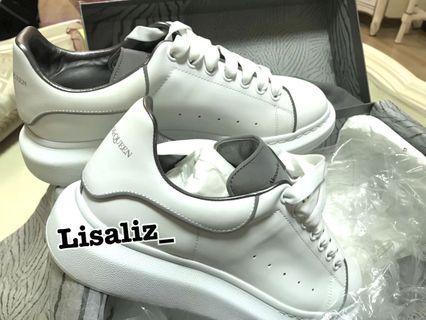Alexander McQueen Sneakers 3M 男裝 反光波鞋