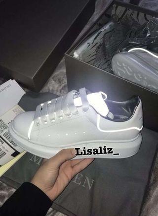 Alexander McQueen Sneakers 3M 反光 女裝波鞋