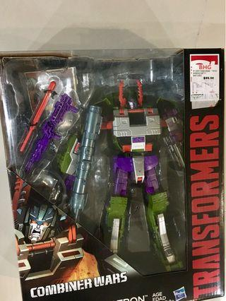 Combiner wars armada Megatron with upgrade kit included