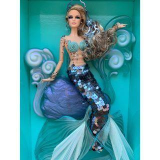 🆕 2012 Barbie Doll The Mermaid Fantasy (GOLD LABEL)