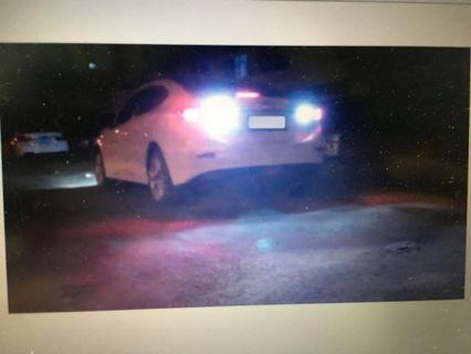 Mazda 3 Reverse light white LED(1 pair)