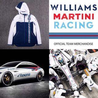 🏁世界ㄧ級方程式 F1 William 威廉斯車隊 William 紀念版連帽外套🏎️