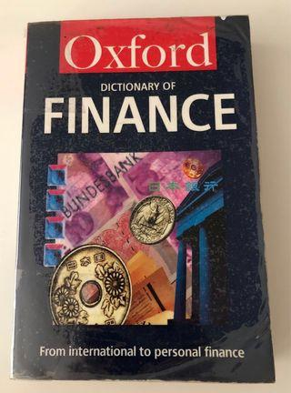 Oxford Dictionary of Finance