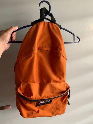 Orange Eastpak Backpack