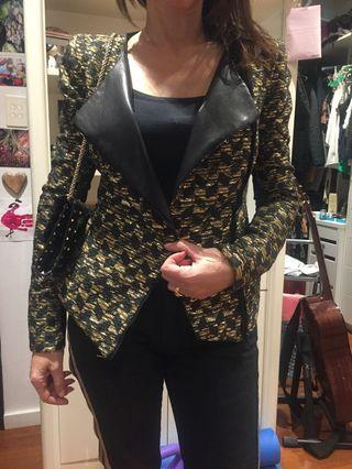 Willow fitted jacket size 6