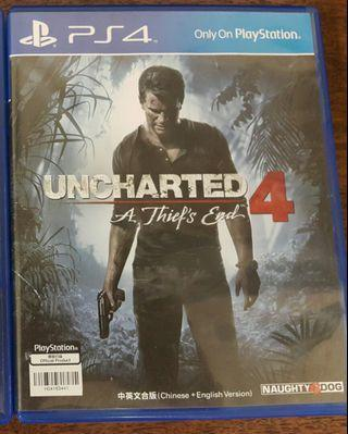 ps4 Uncharted 4 中文版