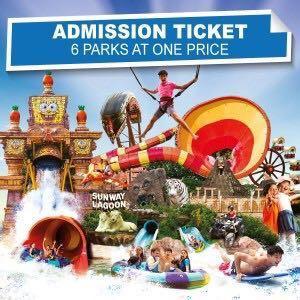 [Promo] Sunway Lagoon Ticket 2019