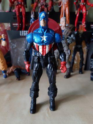 Marvel Legends CAPTAIN AMERICA BUCKY BARNES - dc ml avengers endgame winter soldier hasbro