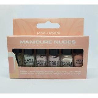 Max & More Nail Polish - Manicure Nudes (Mini Nail Polish Set)