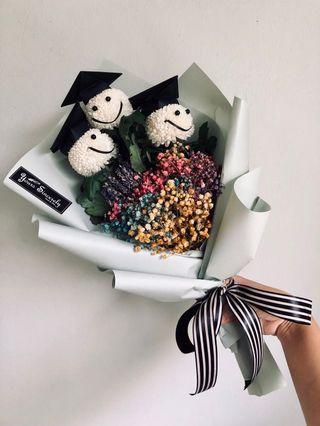 🎓 Graduation Bouquet // 😊 Smiley bouquet