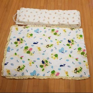 🚚 Baby Blanket and cot bumper