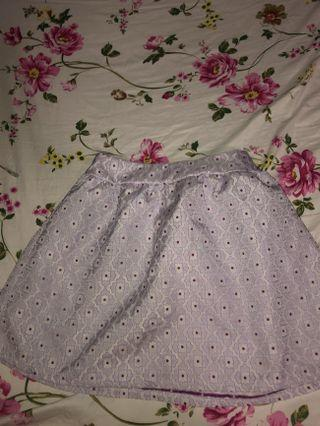 Genie in a bottle floral skirt