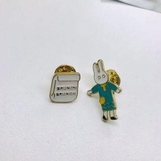 🚚 兔兔胸針