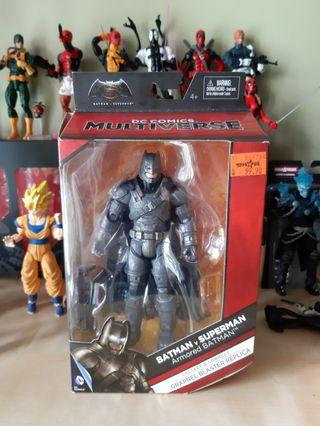 DC Multiverse ARMORED BATMAN - marvel justice league mattel