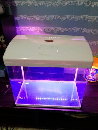 E-MAX aquarium tank with led light