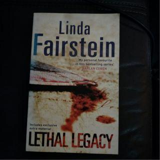 Pre - Love Lethal Legacy by Linda Fairstein [Paperback]
