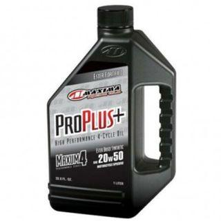 Maxima Pro Plus 20W50 Ester Based Synthetic Motorcycle Oil - 1Gal (3.784L)