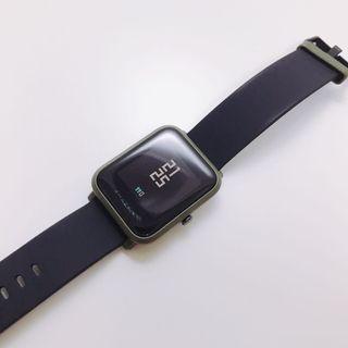 🚚 [二手]米動手錶青春版 amazfit 青春版 卡其綠