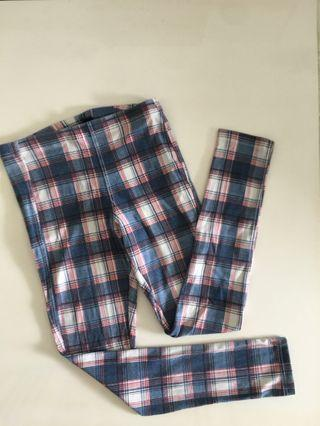 Topshop checkered tights
