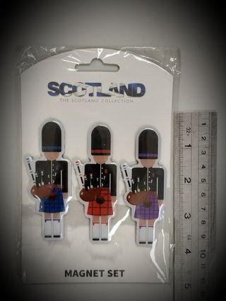 Eurostick The Scotland collection Magnets Set 一蘇格蘭 攝石一套三個_
