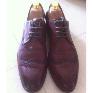 Pedro Red Leather Shoe