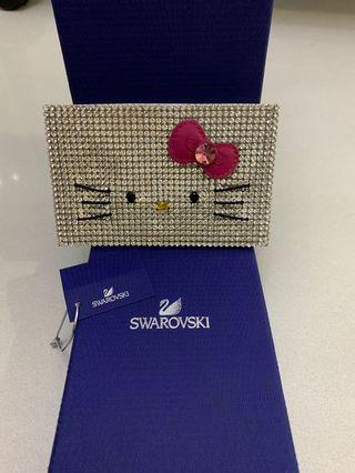 🚚 Swarovski Hello Kitty Card Holder