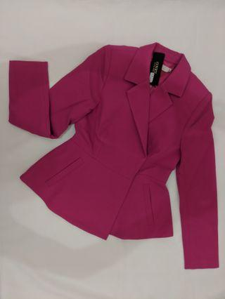 COVET by LOVE BONITO Pink Blazer (NEW with TAG)