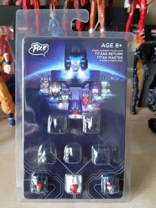 Transformers FIXIT Headmasters Addon Kit - titan return skullcruncher weirdwolf ratbat decepticons G1 hasbro takara
