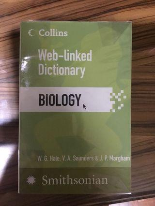 Collins Web Linked Dictionary of Biology