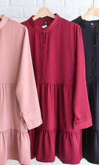Preloved Deepduzt Ranya Ruffled blouse/top in XL