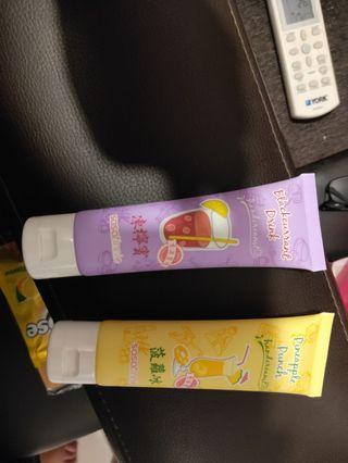 Pineapple and black current drink hand cream