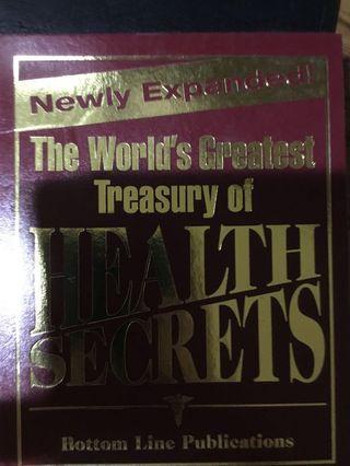 Treasury of Health Secrets Reader's Digest