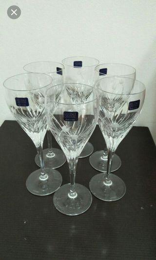 c3c1512b5358  EndgameYourExcess❤Sale ❤Authentic DAVINCI® CRYSTAL Wine Glasses    Champagne Glasses