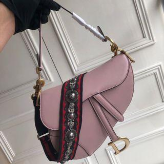 Dior Saddle Leather Bag