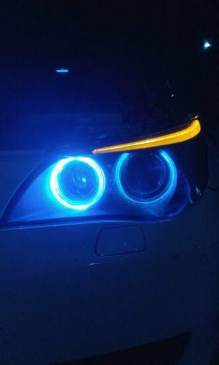 H8 H11 dual colour fog light led