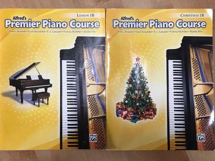 2 Piano Practice Books