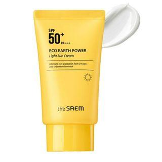 THE SAEM - Eco Earth Power Light Sun Cream