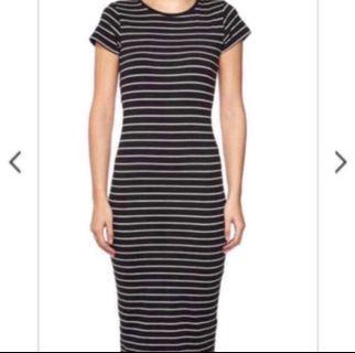 Cotton On Women's Striped Midi Dress (Size S)