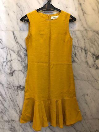 Editor's Market Mustard Yellow Dress