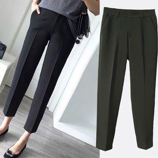 Plus size up to 5XLBlack  Formal Pants