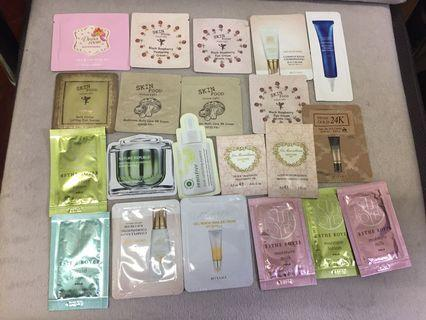 Random Korean and Japanese brand samples $1@