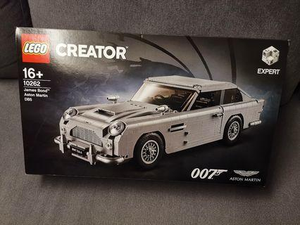 Lego 10262 007 Aston Martin James Bond DB5 car