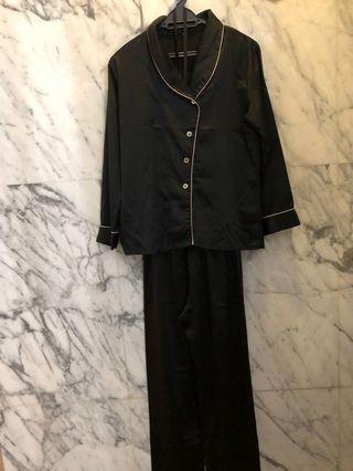 Black Pajamas Set