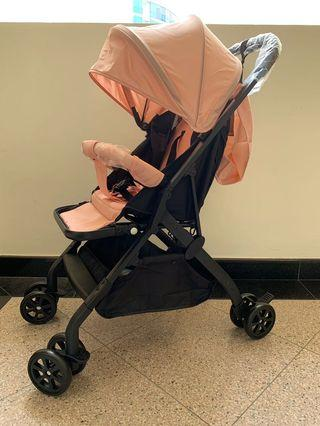 Cabin Lightweight Compact One Pull Folding Stroller