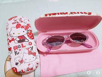 Hello Kitty 兒童眼鏡盒 買1送1