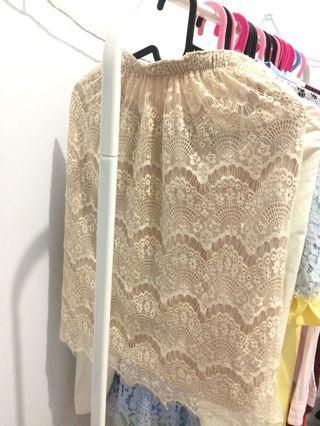 Yuan clothing lace skirt