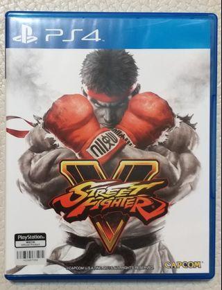 PS4 PLAYSTATION 4 STREET FIGHTER V 中英文版 (PS4 主機 SLIM 500GB 1TB ps4 500g)